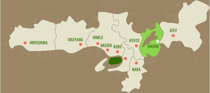 Map:滋賀県