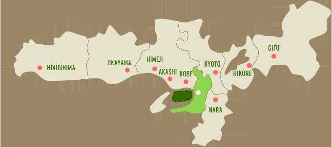 Map:大阪府