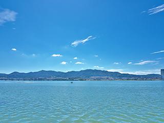 琵琶湖(松原水泳場)