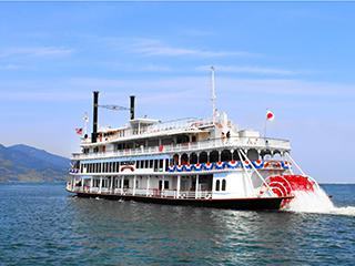 琵琶湖汽船観光船のりば(長浜港)